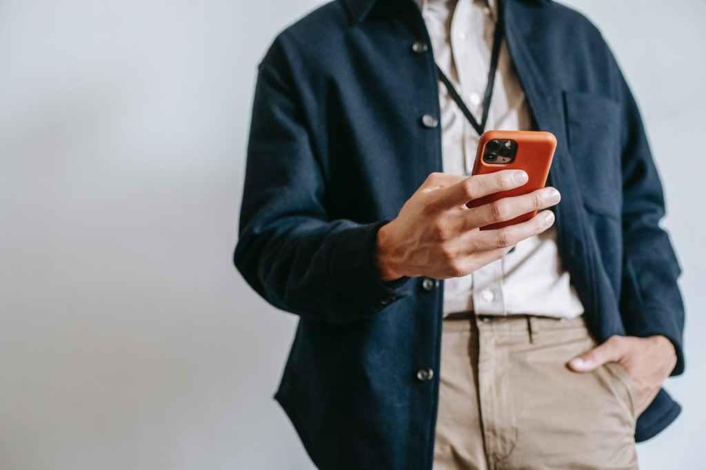 คนใช้สมาร์ทโฟน